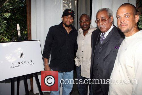 Michael Ely, Will Packer, Chuck Morris, and Quincy...
