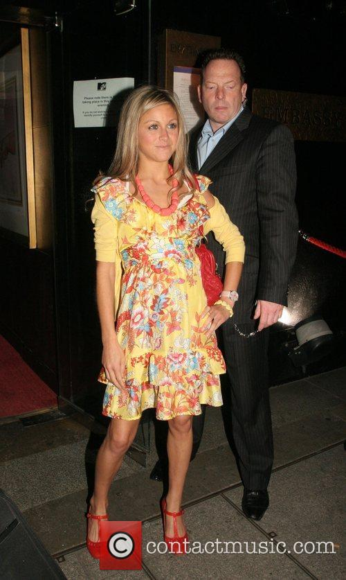 OK magazine party at Embassy nightclub - departures