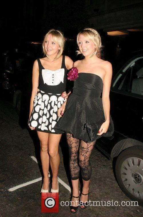 Samantha Marchant and Amanda Marchant from Big Brother...