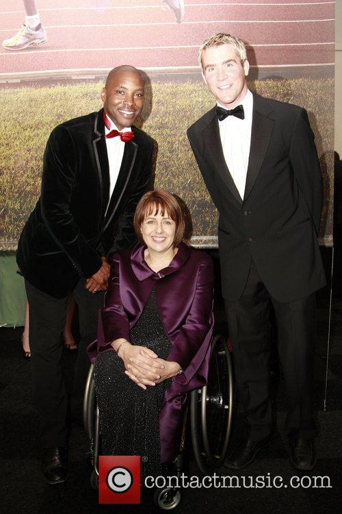 Mark Richardson, Tanni Grey Tompson and Leon Taylor...