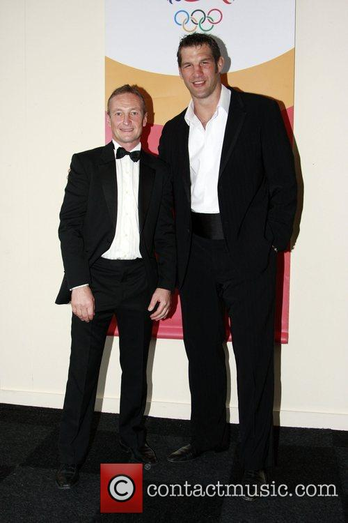 Richard Dunwoody and Simon Shaw Beijing Send Off...