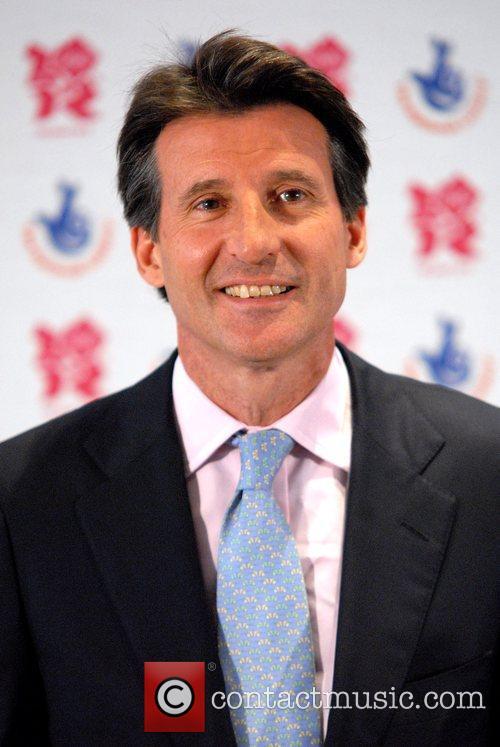 Lord Sebastian Coe Olympics Minister joins famous Olympians,...