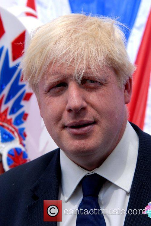 Boris Johnson Olympic Photocall at the Mall, to...