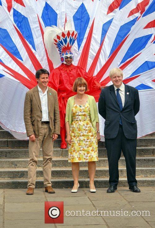 Sebastian Coe, Tessa Jowell and Boris Johnson Olympic...