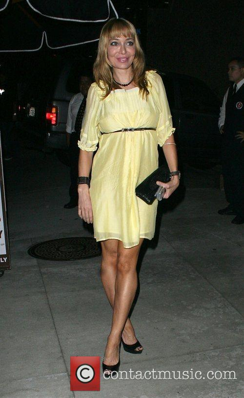 Leaving One Sunset club in Beverly Hills