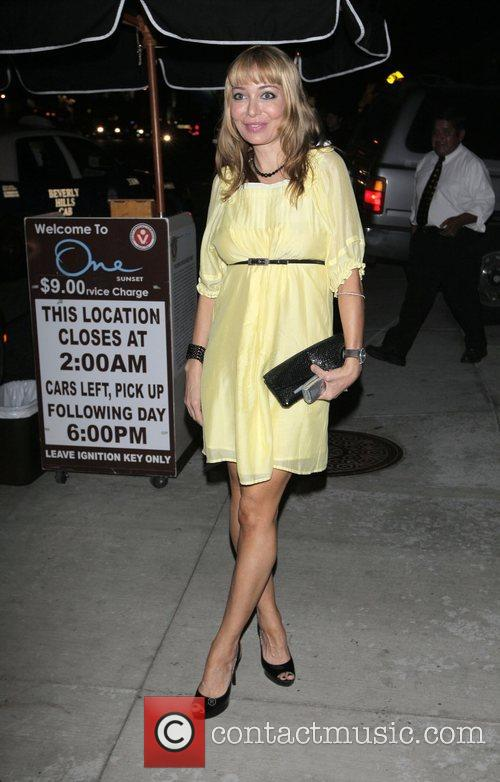 Lorielle New leaving the Sunset One club Los...