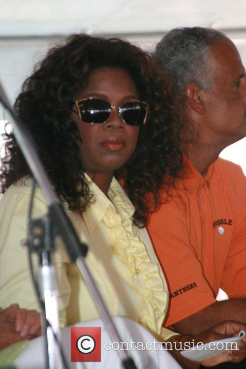 Oprah Winfrey and Stedman Graham 10