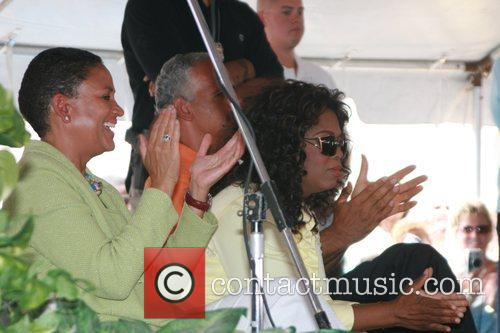 Oprah Winfrey and Stedman Graham 4
