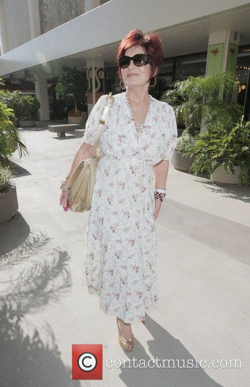 Sharon Osbourne at the Chanel Boutique in Beverly...