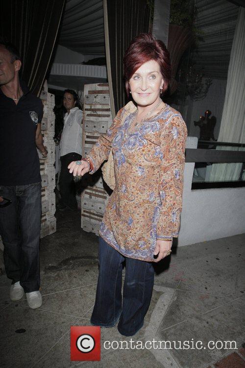 Sharon Osbourne leaving Sur Restaurant Los Angeles, California
