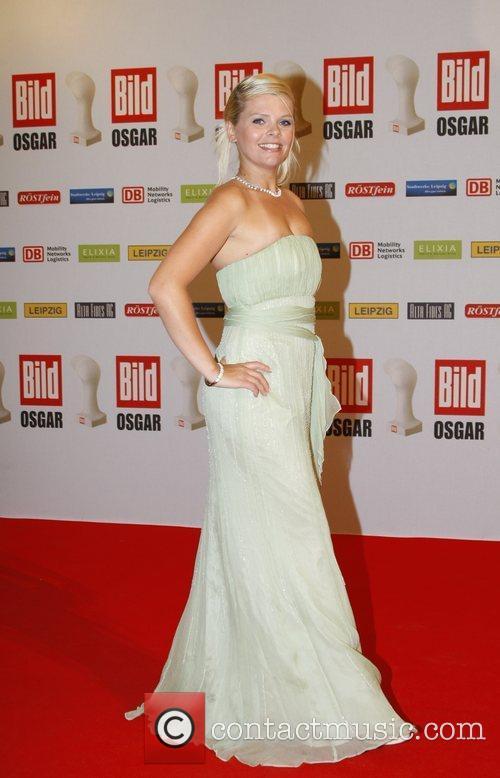 Anne-Sophie Briest Osgar Awards at Leipziger Rathaus city...