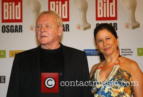 Anthony Hopkins, Stella Hopkins Osgar Awards at Leipziger...