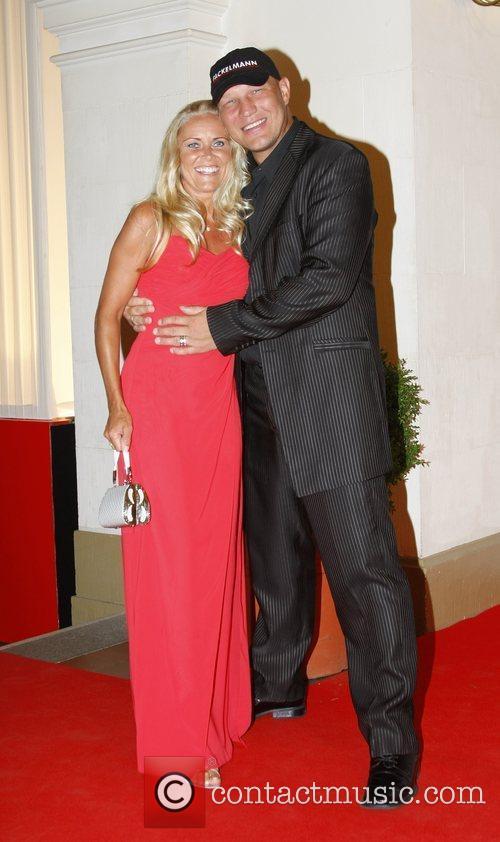 Axel Schulz, Patricia Reich Osgar Awards at Leipziger...