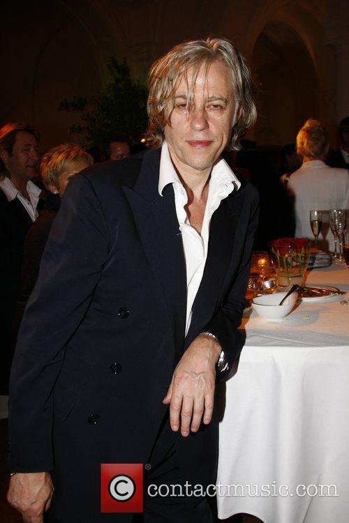 Bob Geldof Osgar Awards at Leipziger Rathaus city...