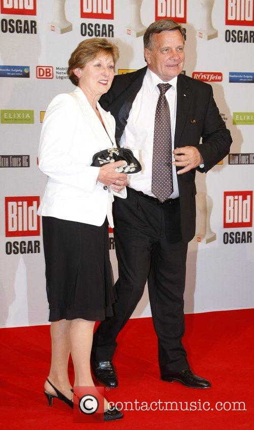 Helene Mehdorn, Hartmut Mehdorn Osgar Awards at Leipziger...