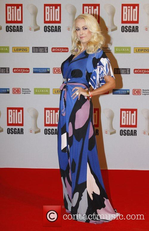 Jenny Elvers-Elbertzhagen Osgar Awards at Leipziger Rathaus city...