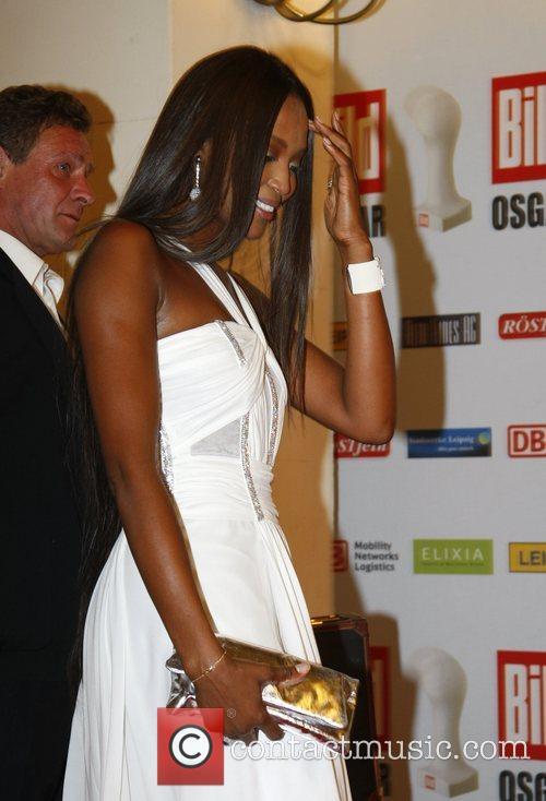 Naomi Campbell Osgar Awards at Leipziger Rathaus city...