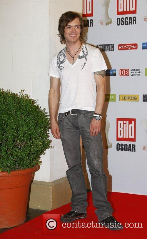 Thomas Godoj Osgar Awards at Leipziger Rathaus city...