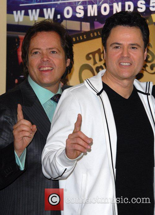 Jimmy Osmond and Donny Osmond The Osmonds at...