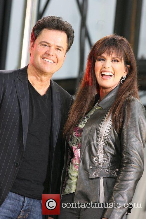 Donny Osmond and Marie Osmond 1