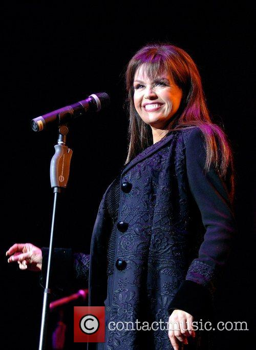 Marie Osmond perform during their 50th anniversary tour...