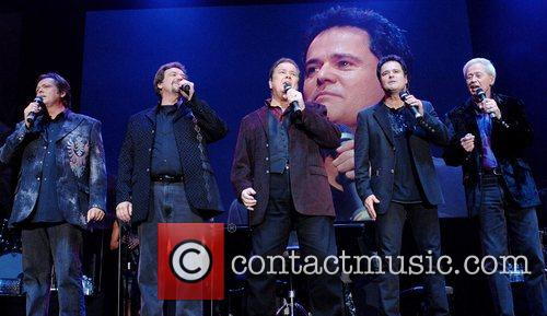 The Osmonds  perform during their 50th anniversary...