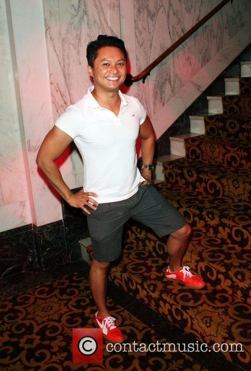 Alec Mapa Outfest film festival closing night held...