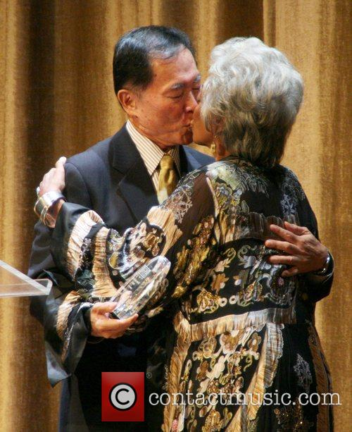 George Takei and Nichelle Nichols Outfest film festival...