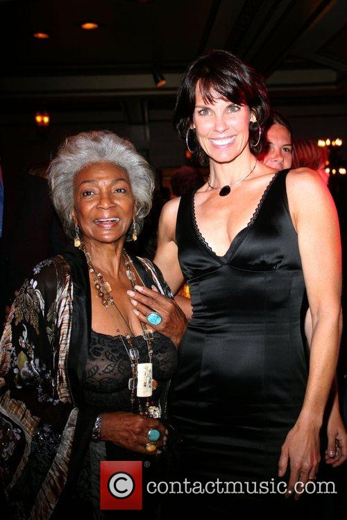 Nichelle Nichols and Alexandra Paul Outfest film festival...