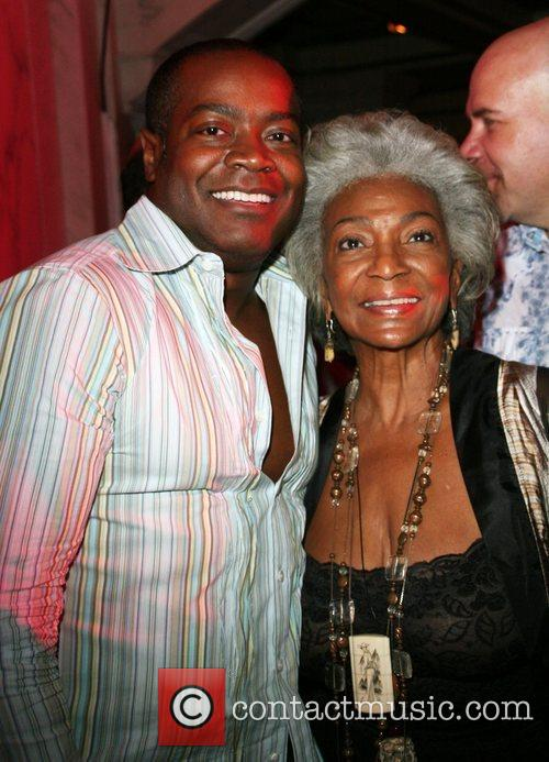 Nichelle Nichols and Guest Outfest film festival closing...