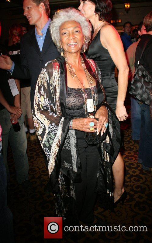 Nichelle Nichols Outfest film festival closing night held...