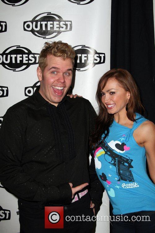 Perez Hilton and Karina Smirnoff 5