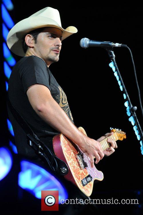 Brad Paisley Performs as part of the Paisley...