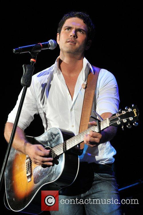 Chuck Wicks Performs as part of the Paisley...
