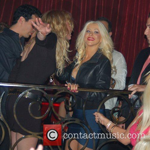 Christina Aguilera and Palms Hotel 5