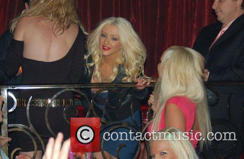 Christina Aguilera and Palms Hotel 3