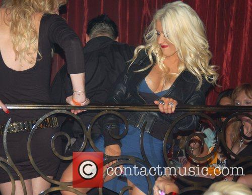 Christina Aguilera and Palms Hotel 11