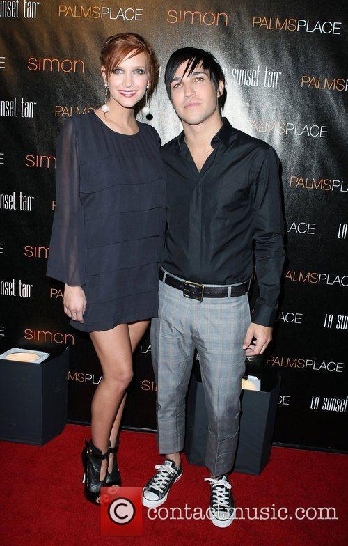 Ashlee Simpson-Wentz, Pete Wentz Palms Place Hotel and...