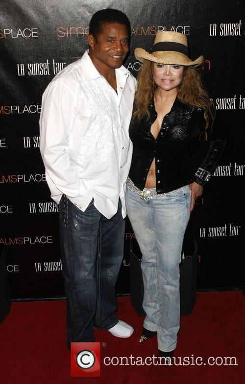 LaToya Jackson and Jackie Jackson Palms Place Hotel...