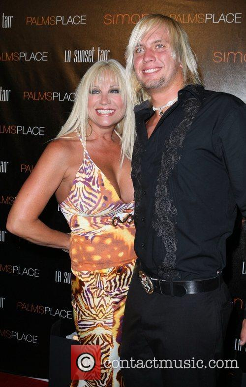 Linda Hogan and guest Palms Place Hotel and...