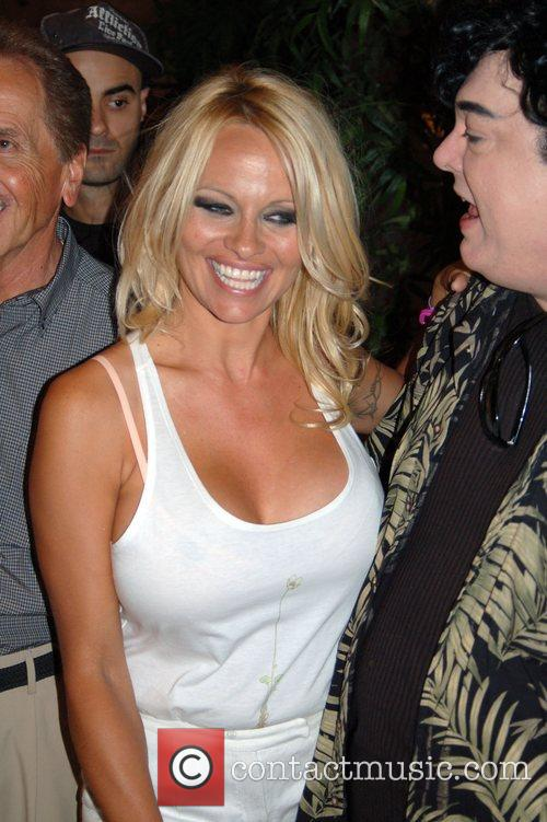 Pamela Anderson, Planet Hollywood