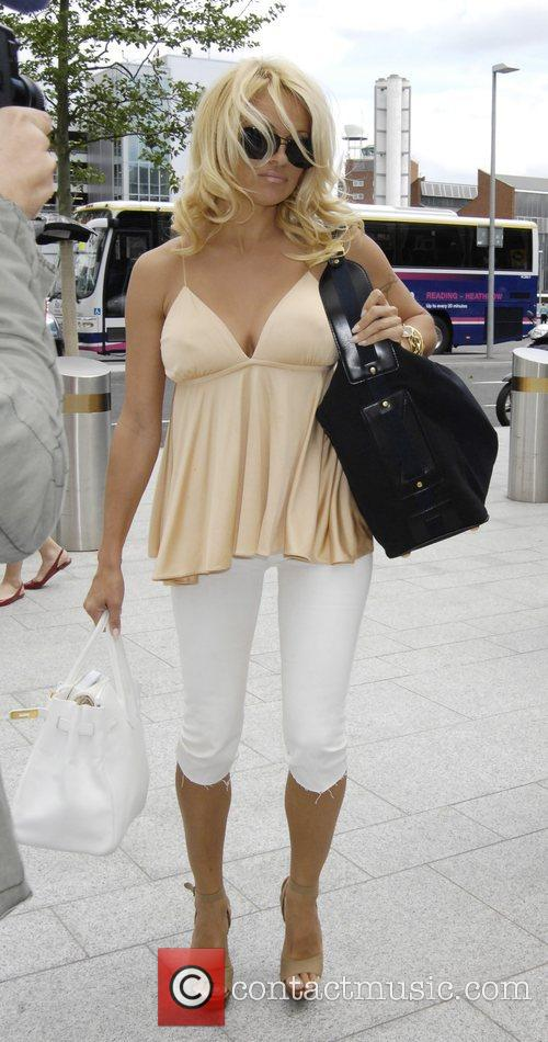 Arriving at London's Heathrow Airport