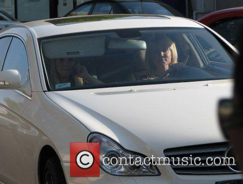 Pamela Bach takes her daughter Hayley Hasselhoff shopping...