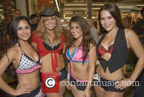 Jessica J, Melanie, Alma and Brittany  before...