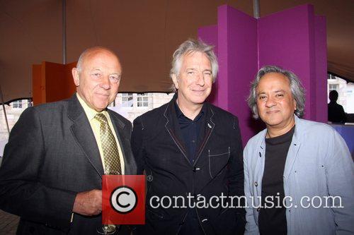 John Tusa, Alan Rickman and Anish Kapoor Rootstein...