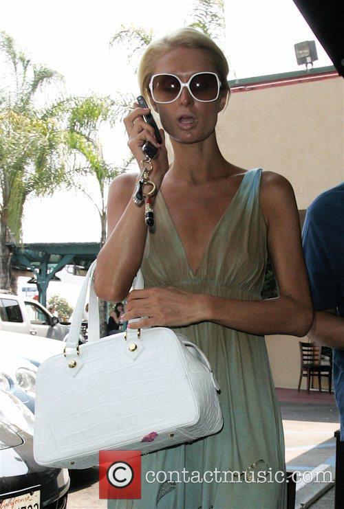 Paris Hilton running errands in Sunset Plaza