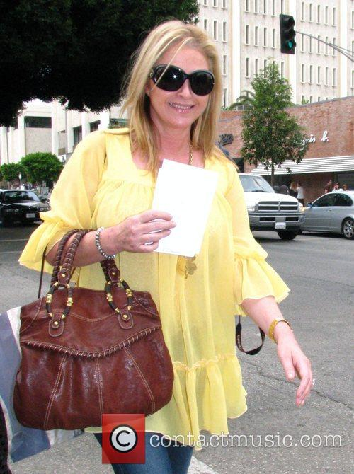 Kathy Hilton leaving the Ivy after having lunch...
