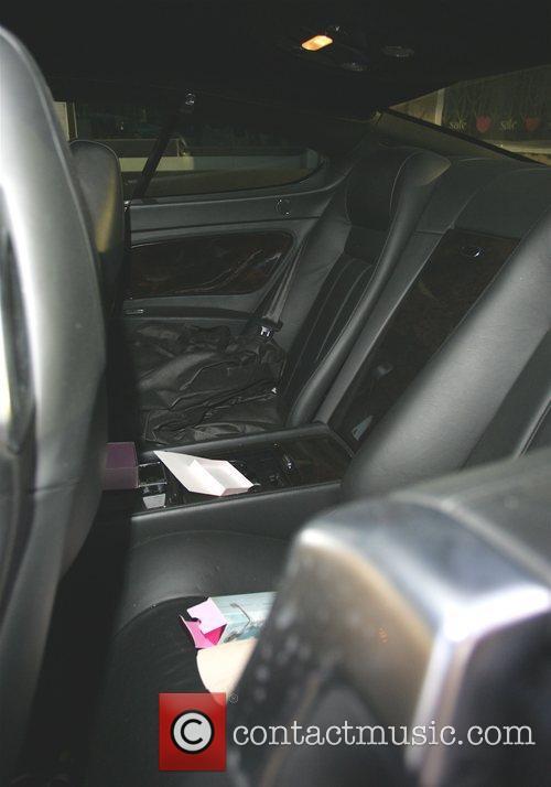 Paris Hilton's Bentley breaks down in West Hollywood...