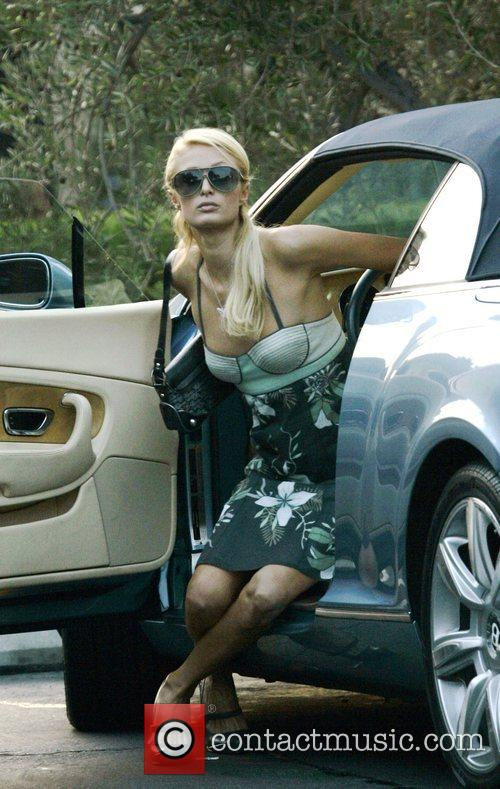 Paris Hilton buys her pets some treats in...