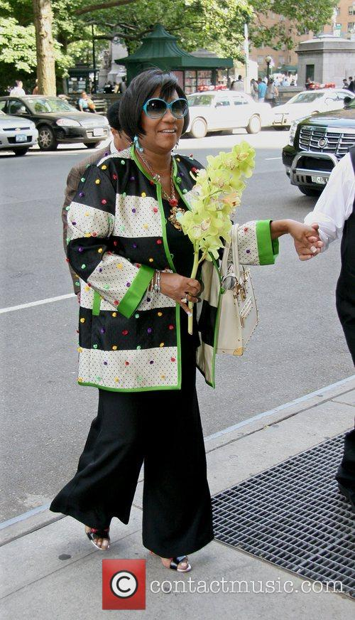 Patti LaBelle arrives at her Manhattan hotel with...